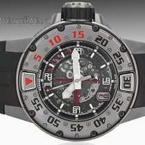 Richard Mille Titanium Diver RM028 AJ TI New