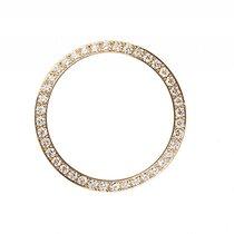 勞力士 (Rolex) Zubehör - Lünette Gelbgold Diamant 0,60ct 26mm Neu...