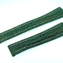 Breitling Band 22mm Green Shark Strap Correa B22-02