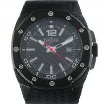 Davosa Performance Titan Black Automatik Armband Kautschuk 46mm