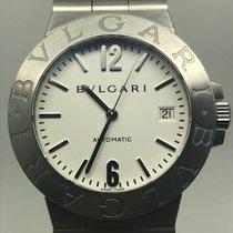 Bulgari DIAGONO 38MM AUTOMATIC WHITE DIAL PERFECT CONDITION
