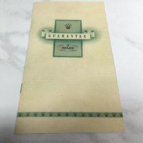 Rolex Warranty Guarantee Booklet / 1953 / blanco