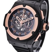 Hublot King Power Unico Carbon with Rose Gold Bezel