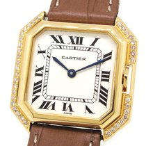 Cartier 18K Gold Paris Collection , Custom Diamond, with Box