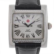 Michele MW2 Stainless Steel Diamond Watch