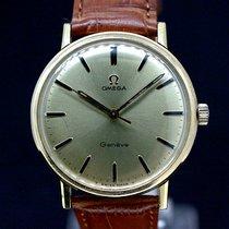 Omega Geneve Kaliber 601 Gold Dial von 1960