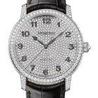 Audemars Piguet Jules Audemars 18K White Gold Pave Diamonds
