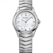 Ebel Wave Lady Steel Case, Mother of Pearl Dial, Quartz