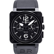 Bell & Ross Aviation BR03 Black Matte Chronographe