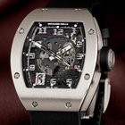 Richard Mille [NEW] RM 010 18k White Gold Watch (Retail:US$100...