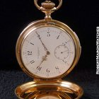 Patek Philippe Minute Repeater Pocket Watch 18k Rose Merrick,...