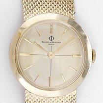 Baume & Mercier Vintage Ladies 14k Yellow Gold Watch with...
