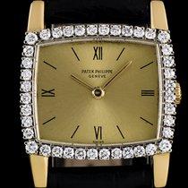 Patek Philippe 18k Yellow Gold Diamond Set Vintage Ladies...