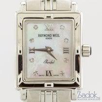 Raymond Weil Parsifal Quartz Stainless Steel Diamond MOP...