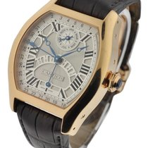 Cartier W1580045 Tortue Perpetual Calendar - Rose Gold on...