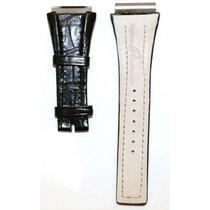 IWC Bvlgari-black Atelier Crocodile Leather Strap