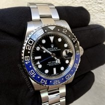 Rolex GMT-Master II Stainless Black and Blue