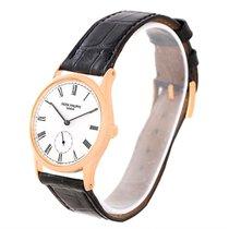 Patek Philippe Calatrava 18k Rose Gold Mens Watch 3796r Pouch...