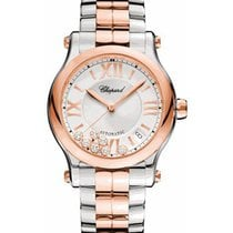Chopard 278559-6002 Happy Sport Ladies Round 36mm Automatic in...