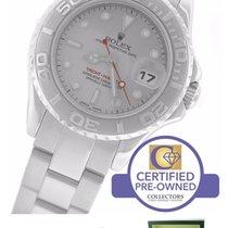 Rolex Yacht-Master 169622 Stainless Platinum Rolesium 29mm Watch