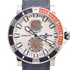 Ulysse Nardin Marine Diver Watch Titanium on rubber strap