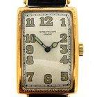 Patek Philippe 18k yellow gold vintage 1920's rectangular...