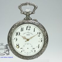 Huge IKO Pocket Watch with nice hunting scene on back - not...