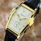 Benrus Rare 1940s Gold Plated Tonneau Manual Dress Watch For...