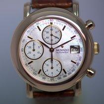 Movado Chronograph 18k Gold