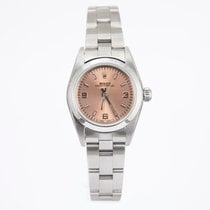 Rolex Oyster Perpetual Salmon Index Dial - Oyster - Smooth