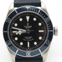 Tudor Heritage Black Bay 41mm  Blue Bezel Auto Men's Watch...