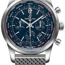 Breitling Transocean Chronograph Unitime Pilot ab0510u9/c879-ss