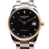 Longines Master Pvd Gold Black Automatic L2.518.5.57.7