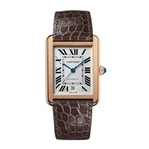 Cartier Tank Solo Automatic Mens Watch Ref W5200026