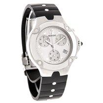 Movado Sports Edition Chronograph Black Rubber Strap Watch...