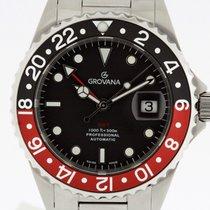 Grovana Automatic Diver GMT COKE Bezel NEW 2 Years Warranty...