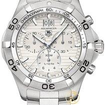 TAG Heuer Aquaracer Chronograph Grandedate White Caf101f.ba0821