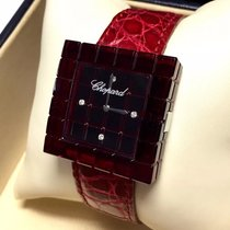 Chopard Be Mad Ladies Watch W/ Factory Diamonds Red Chopard...