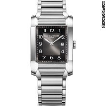 Baume &amp;amp; Mercier Black Dial Stainless Steel Ladies Watch MOA10021