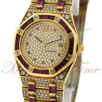 Audemars Piguet Royal Oak Ladies Automatic, Diamond Dial, Ruby...