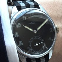 Cyma Vintage Cyma Military Watch with black dial 37mm Oversize