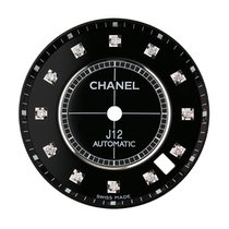 Chanel J12 38mm Black/ Diamond Hour Markers Custom Dial