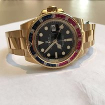 Rolex GMT Master II Sapphires, Diamonds and Rubies