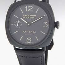 Panerai Radiomir Black Seal Pam 292 Steel Ceramic Mens Watch...