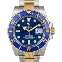 勞力士 (Rolex) Submariner Blue/18k gold Ø40mm - 116613 LB