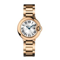 Cartier Ballon Bleu Quartz Ladies Watch Ref W69002Z2