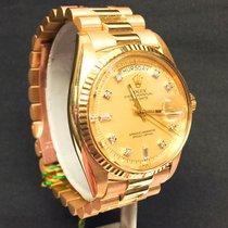 Rolex Daydate w/original Yellow  Diamond Dial