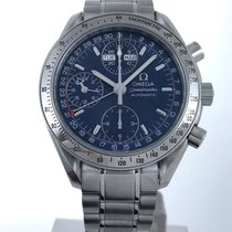 Omega Speedmaster Triple Date Silver Chronograph 3523.80