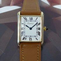 Cartier Tank Manual Wind Wristwatch 17 Jewels
