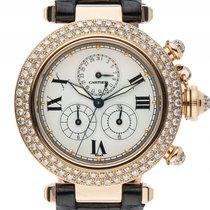 Cartier Pasha Chronoreflex Chronograph 18kt Gelbgold Diamond...